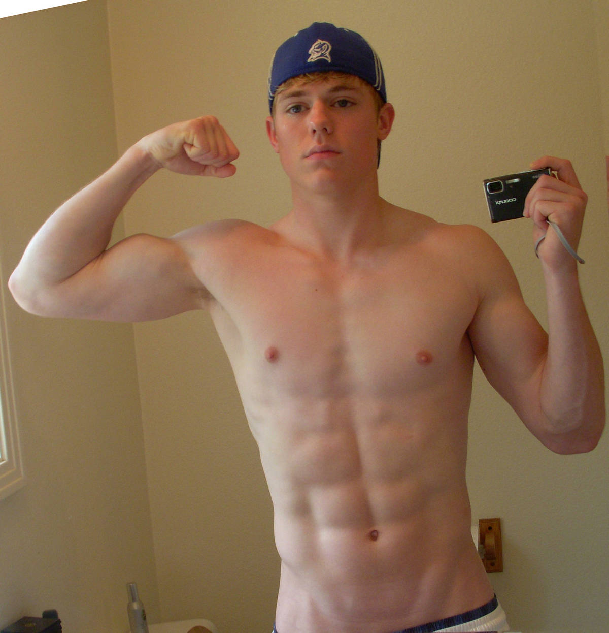 Naked boy russian college boy, honey and yogurt facial