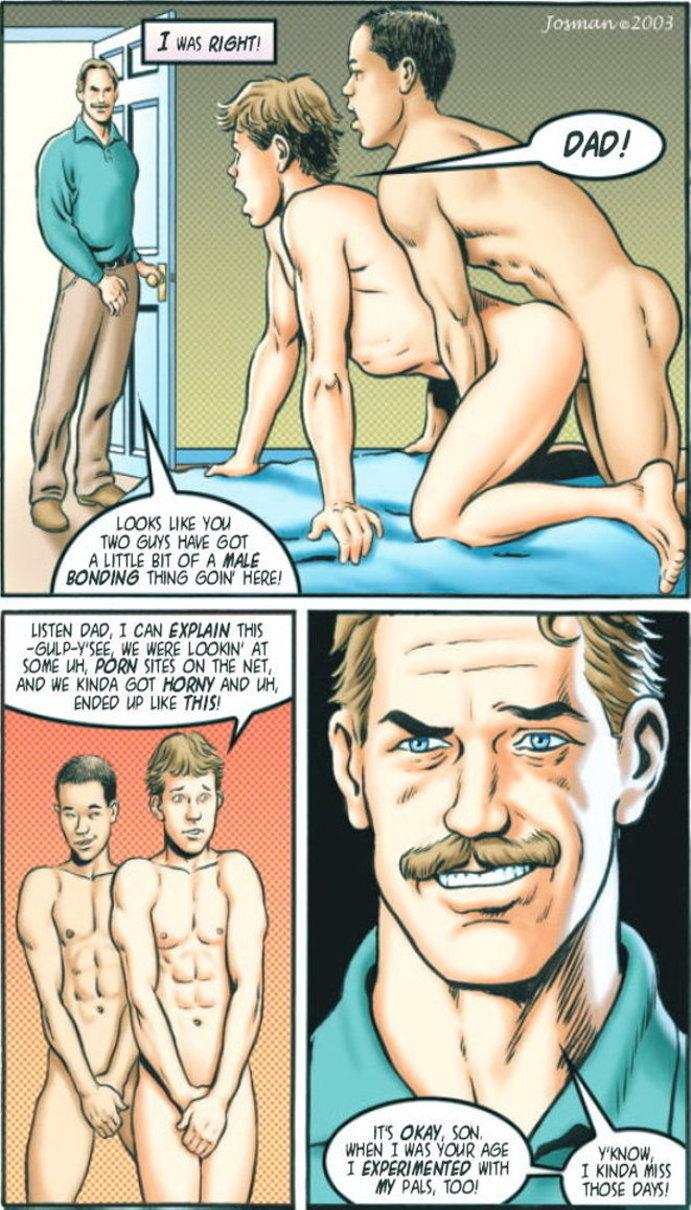 cartoons Josman gay