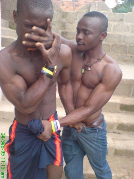 Nude african gay boys