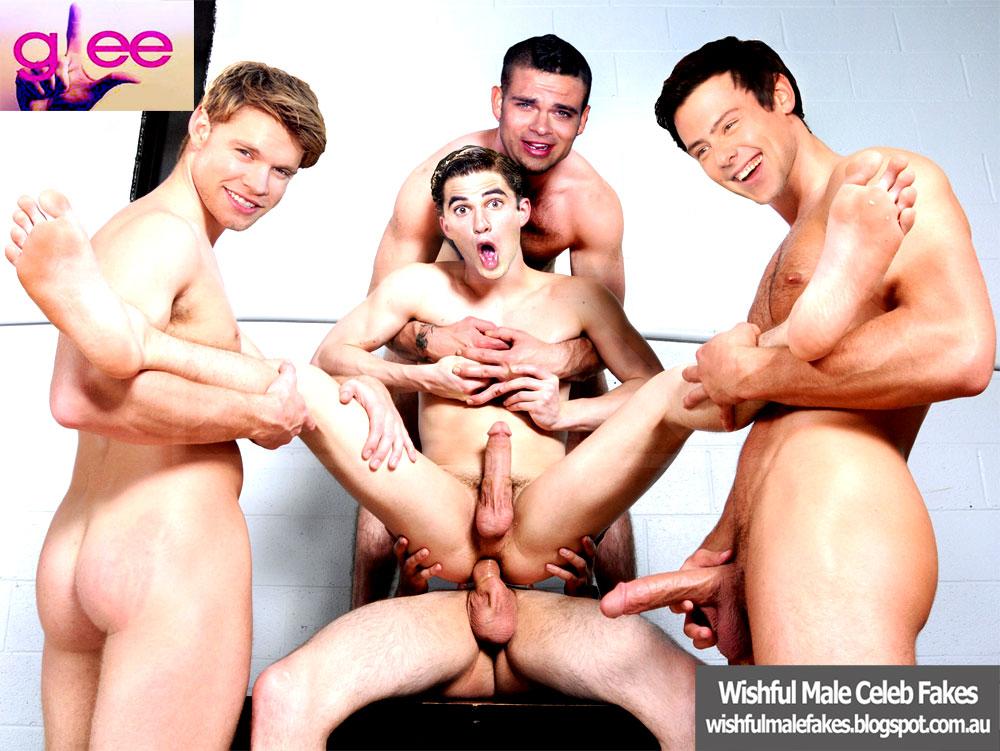 Celeb fakes gay glee porn helpful