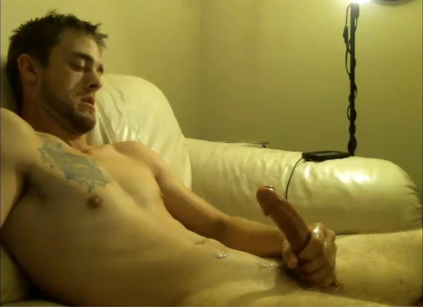 guys Hot cumming naked