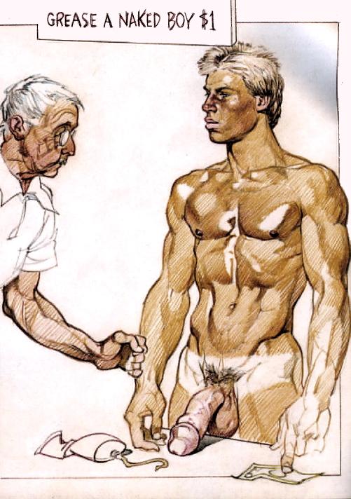 graphic art erotica Gay