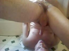 Milking & Eating His Cum