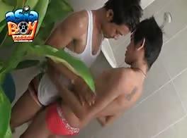 Asian Shower Surprise