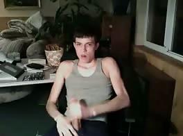 Cute Teen Boy With VERY BIG COCK