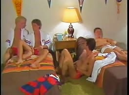 Dorm Fun Four Gay Porn Old School Twinks