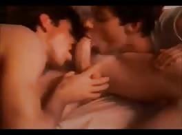 three twinks sucking and fucking and cumming