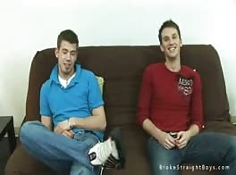 Straight Boys Couch Fun
