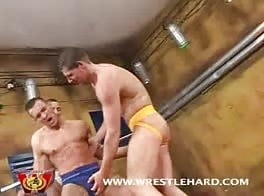 Gay Wrestling Sex Orgy