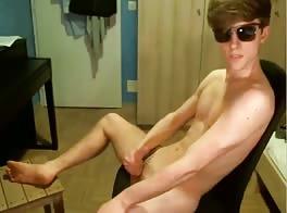 sexy Swedish 18 yr old cums a lot