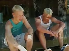 Young Boys Porn Blonde Teens Sex on the Deck