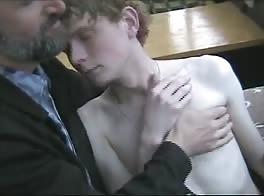 Boss Fucking Skinny Blond Russian Twink on a Boat