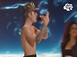 "Justin Bieber ""Sorry"" --shirtless"