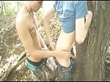 2 Boys Hook Up At Park