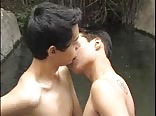 Hidden Latino Studs Waterfall Outdoors Porn