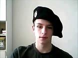 Russian teen boy jerks and cums on webcam
