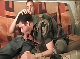 Cute young boy fucks guy from the military