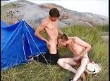 Bareback camping fun