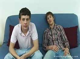 Preppy Straight Boy Virgin