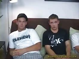 Straight Boys Double Dare