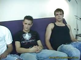 Teen Boys First Three-Way