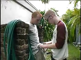 Redhead twinks blowjob