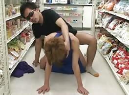 Fuck Boy in Super Market