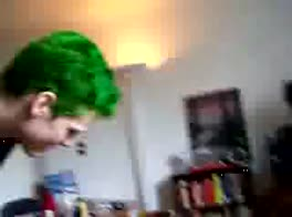 Green Haired Boy