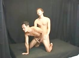 Asian gay cums on his friend
