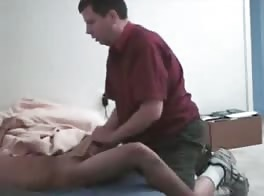 servicing the neighbours huge cock