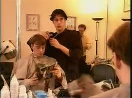 In the barber shop   Video