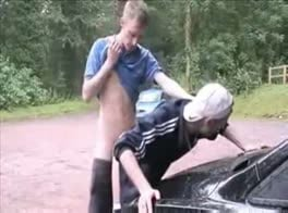 Gay sex in auto