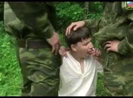 Army Boys Interrogation