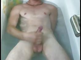 masturbating in the bathtub