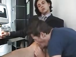 Blowjob A Business Man