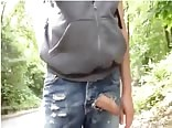 Rip in Jeans- Uncut