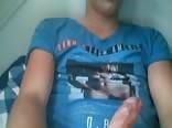 Blue shirt hot guy