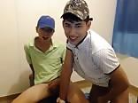 Cute  boys show on cam