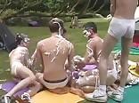 Outdoor Orgy Fun