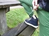 leaving my smelly piss on the bench
