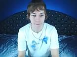 Aiden wanking on cam