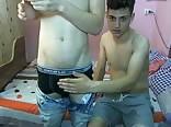 Romanian buddies on cam