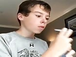 BOY EATING SOAP