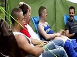 Brit friends on a campout