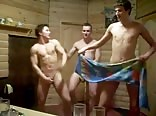 Russian boys in the sauna (part 3)