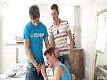 A.103. Very hot trio boys
