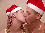 Christmas is cumming for three twinks