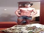 muscle man dance