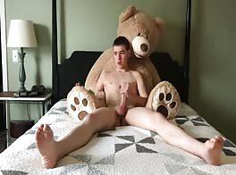 He's So Cute He's Like A Teddy Bear lol
