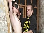 Mike's BDSM boy wax suck and cum 1611